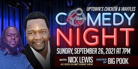 Uptown's Comedy Night with NICK LEWIS tickets