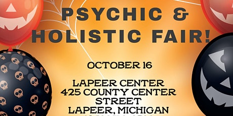 Psychic & Holistic Fair in Lapeer! tickets