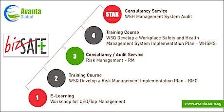 bizSAFE Training & Consultancy Services – Level 1, 2, 3, 4 & Star tickets