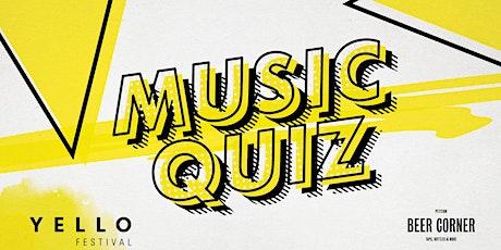 YELLO Music Quiz tickets