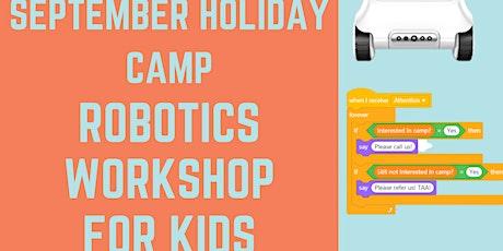 Robotics Workshop for Kids in Adelaide CBD tickets