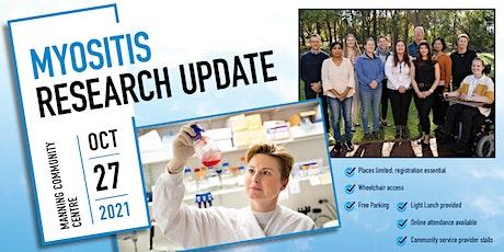 Myositis Programme Research Update 2021 tickets
