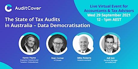 The State of Tax Audits in Australia - Data Democratisation [Part 3/3] tickets