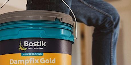 Bostik Presents Waterproofing Training tickets