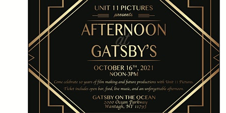 Afternoon at Gatsby's tickets