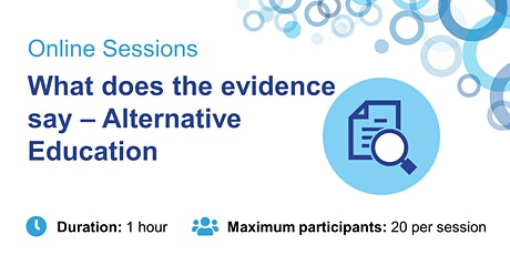 What does the evidence say – Alternative Education tickets