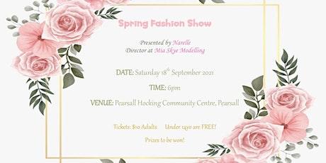 Mia Skye Modelling Spring Fashion Show 2021 tickets