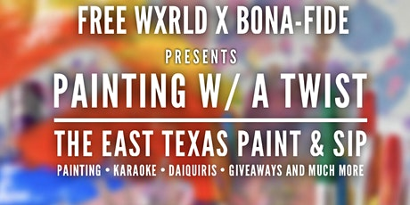 Painting with a twist! Free Wxrld Affair! tickets
