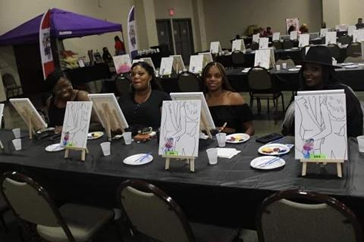 Painting with a twist! Free Wxrld Affair! image
