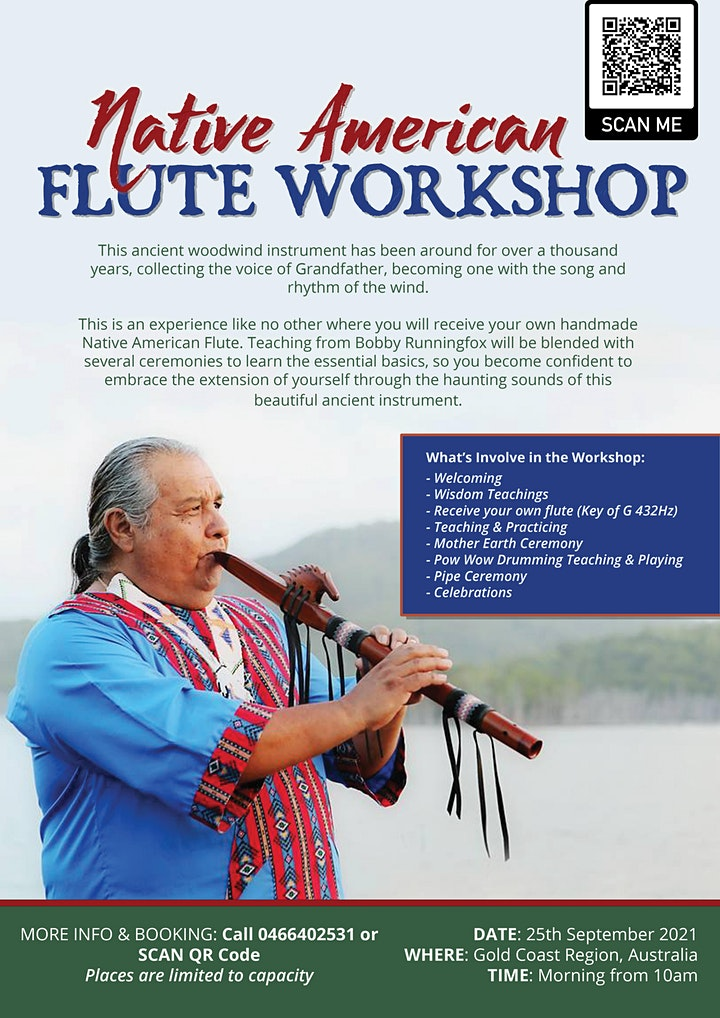 Flute Workshop with Bobby Runningfox image