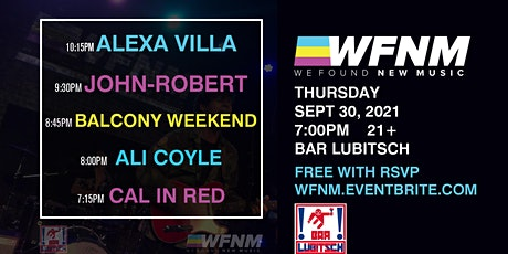 ALEXA VILLA / JOHN-ROBERT / BALCONY WEEKEND / ALI COYLE / CAL IN RED tickets