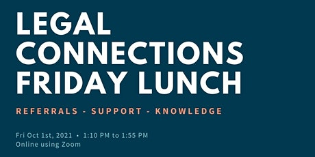 Legal Connections Lunch Summit tickets