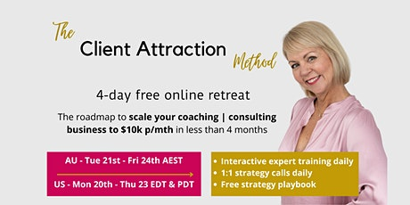 Create Your Compelling Client Attraction System tickets