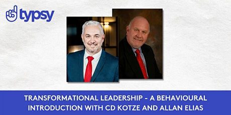 Typsy Class - Transformational Leadership – A Behavioural Introduction tickets
