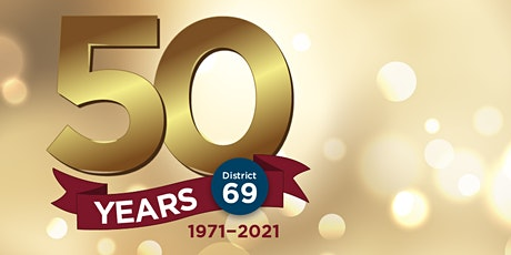 Sandgate Toastmasters Club - District 69  50 Year Anniversary Dinner tickets