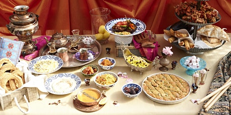 Eat Istanbul  – An Assault on your Senses - ONLINE COOKING CLASSS tickets