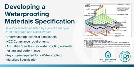 Developing a Waterproofing Materials Specification tickets