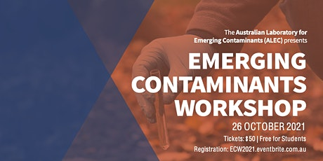 Emerging Contaminants Workshop 2021 tickets