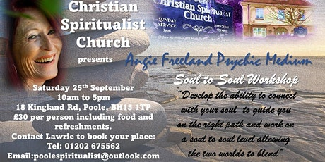 Soul To Soul Workshop with Angie Freeland. tickets
