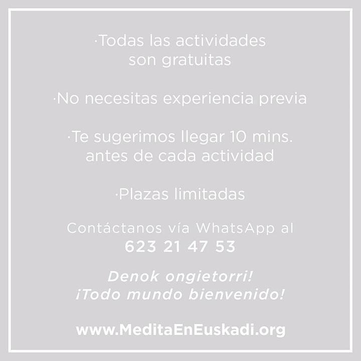 Imagen de Apertura Centro de Meditación - Semana Gratuita