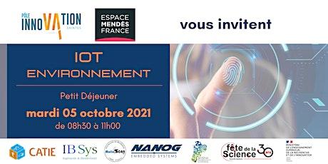 IOT ENVIRONNEMENT - Petit déjeuner à la Cité Entrepreneuriale de Saintes tickets