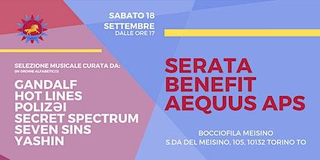Serata Benefit Associazione aEQUUS - Autoproduzioni | Cena | DJ Set biglietti