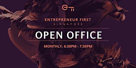 Entrepreneur First Singapore Virtual Open Office tickets