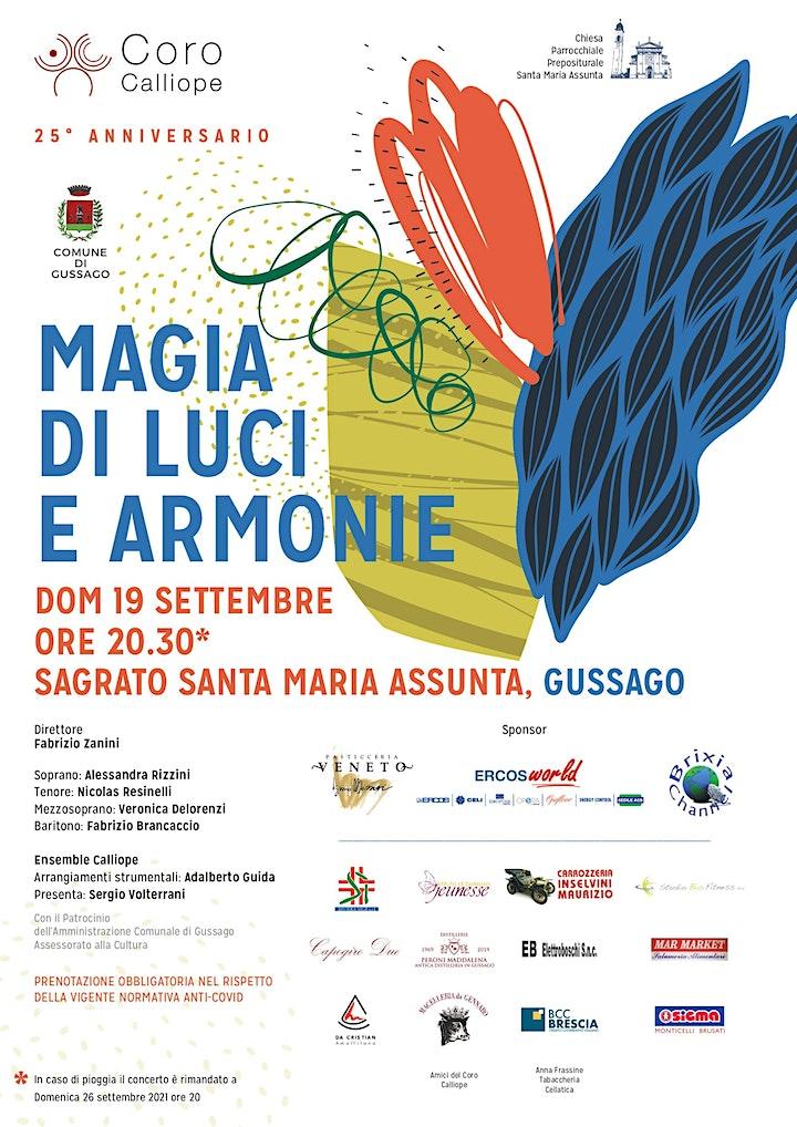 Immagine Coro Calliope in concerto - Magia di Luci e Armonie