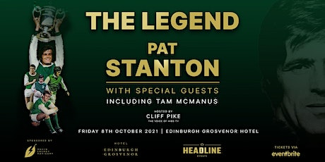 The Legendary Pat Stanton - LIVE on Stage with special guests tickets
