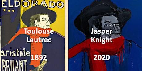Toulouse Lautrec & Jasper Knight, October evening, English tickets