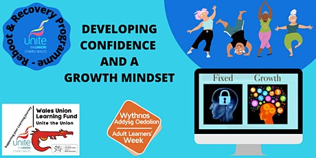 Reboot & Recovery: DEVELOPING CONFIDENCE AND A GROWTH MINDSET tickets