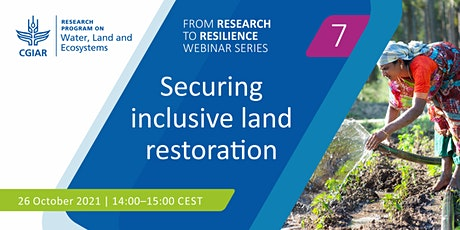 Securing inclusive land restoration tickets