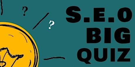 SEO Pub Quiz tickets