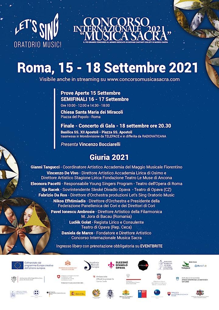 Immagine Semifinale 3 Concorso Int. Musica Sacra 2021 - Let's Sing Oratorio Music!