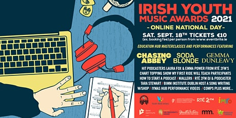 Irish Youth Music Awards 2021 National Online Event tickets
