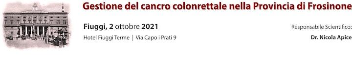 Immagine Gestione del cancro colonrettale nella Provincia di Frosinone