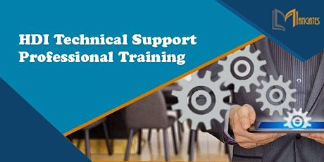 HDI Technical Support Professional Virtual Live Training in Cambridge tickets