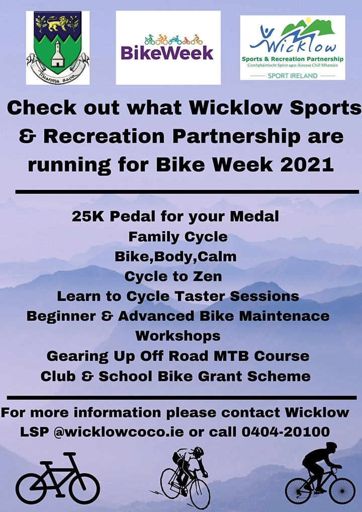 Pedal for your Medal 25km Virtual Cycle image