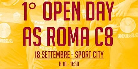 1^ OPEN DAY AS ROMA C8 (slot h.10) biglietti