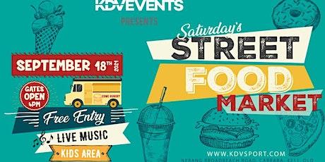 """ STREE FOOD MARKET @KDV "" tickets"