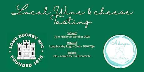 Long Buckby RFC  Wine Tasting With Adega Wine  Cellar tickets