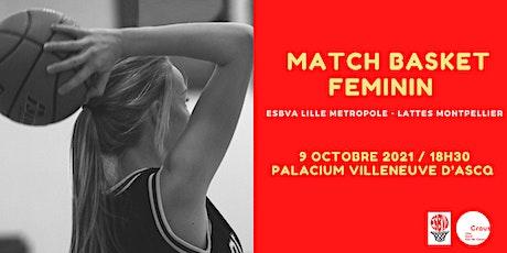 Match de Basket Féminin billets