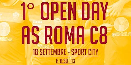 1^ OPEN DAY AS ROMA C8 (slot h 11.30) biglietti