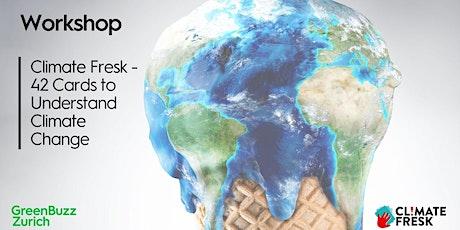 Workshop: Climate Fresk - 42 Cards to Understand Climate Change billets