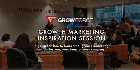 GrowForce B2B Growth Inspiratiesessie tickets