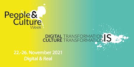 People & Culture Week 2021 | #PCWeek21 Tickets