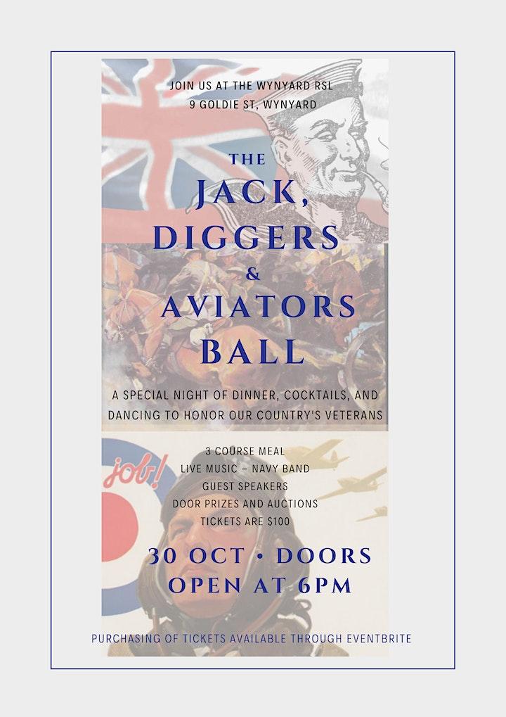 The Jack, Diggers & Aviators Ball image
