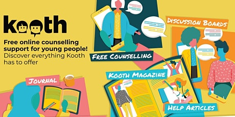 Introduction to Kooth for Parents and Carers (HCV) tickets
