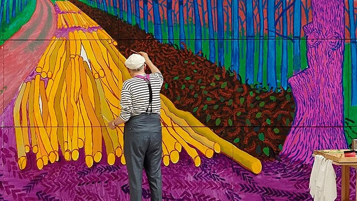 David Hockney - Art Webinar for Kids 7+ image