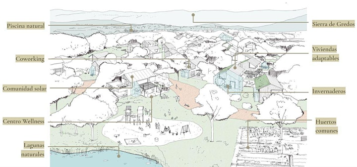 Imagen de vibio.land, una comunidad sostenible en plena Sierra de Gredos